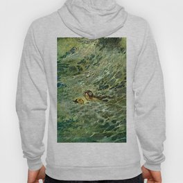 """""""The Mermaid in the Sea"""" by Edmund Dulac Hoody"""