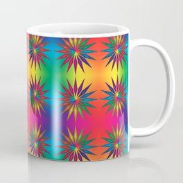 Star Rainbow Triangle Mandala  Coffee Mug