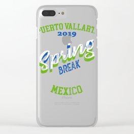 Puerto Vallarta Mexico 2019 Mexico Gift Design Idea Clear iPhone Case