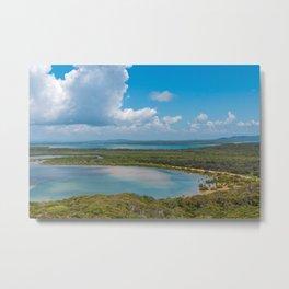Middle island Metal Print