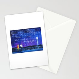 lalaland fanart Stationery Cards