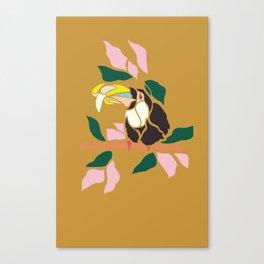 Toucans are Bananas Canvas Print