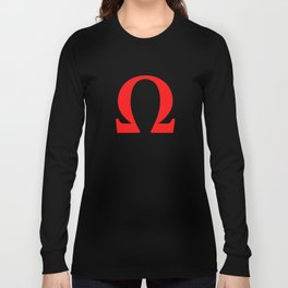 Ω omega Long Sleeve T-shirt