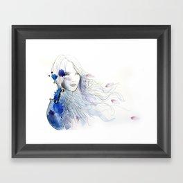 viola Framed Art Print