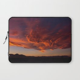 Desert Sky on Fire Laptop Sleeve
