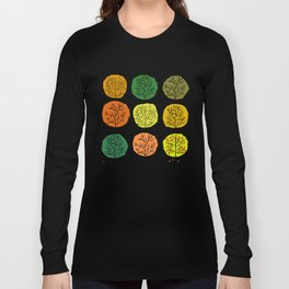 Tidy Trees All In Pretty Rows Long Sleeve T-shirt