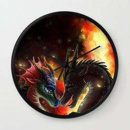 Love Wings of fire Wall Clock