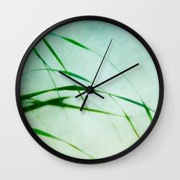 green harmony Wall Clock