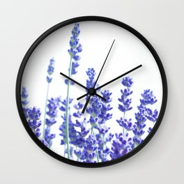 Fresh Lavender #3 #decor #art #society6 Wall Clock