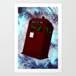 View From the Tardis Portal Art Print