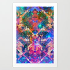 Geocosmic Art Print