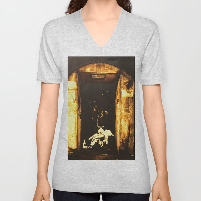 Fallen Angel Unisex V-Neck