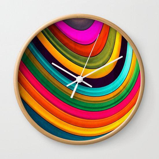 More Curve Wall Clock