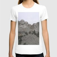 rushmore T-shirts featuring Mount Rushmore National Park by Joanne Salazar