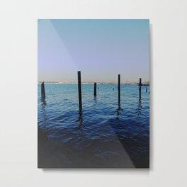 True Blue Metal Print