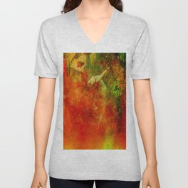 The clearing of the elfs Unisex V-Neck