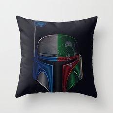Star . Wars - Jango Fett & Boba Fett Throw Pillow