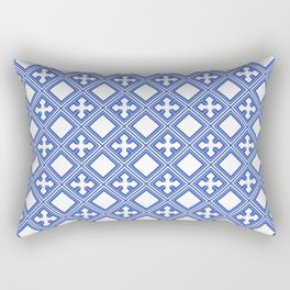 Chinese Tile Rectangular Pillow