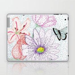 Flowers & butterflies Laptop & iPad Skin