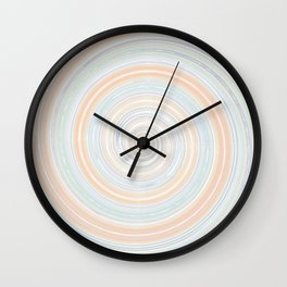 Re-Created Spin Painting No. 30 by Robert S. Lee Wall Clock