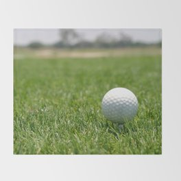Golf Ball Throw Blanket