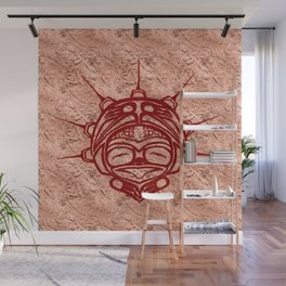 Blood Frog Copper Wall Mural