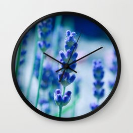 A Touch of blue - Lavender #1 Wall Clock