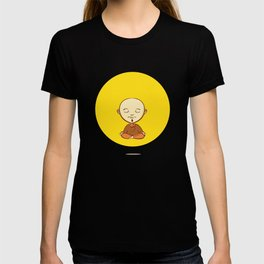 Cute cartoon buddhist monk T-shirt