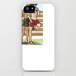 Beaches ain't ready iPhone Case