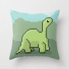 Another Pixel Dino! Throw Pillow