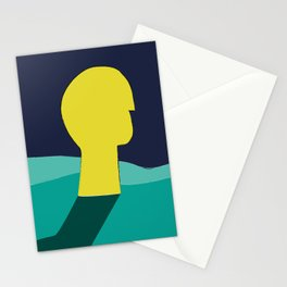 Be in deep water Stationery Cards