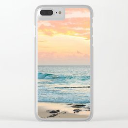Honolulu Snrse Clear iPhone Case