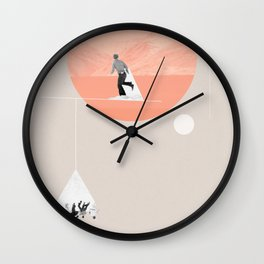 FROM EARTH Wall Clock