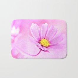 Cosmea pink 115 Bath Mat