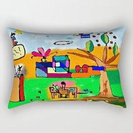 Il giardino e le nuvole Rectangular Pillow