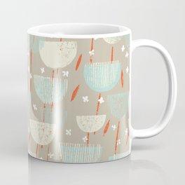 Botanical Block Print M+M Latte by Friztin Coffee Mug