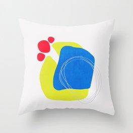 Modern minimal forms 45 Throw Pillow