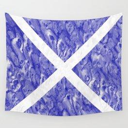 Scottish Flag Wall Tapestry