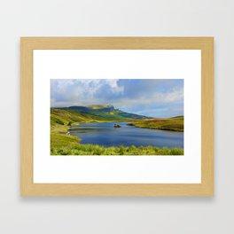 Loch Fada to the Storr Framed Art Print
