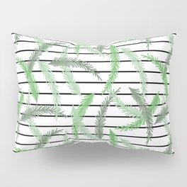 Stripes and Sprigs Pillow Sham