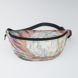 ONWARDS TO GLORY - SPRING PROTEA by Artist HSIN LIN / H.Lin the Artist Fanny Pack