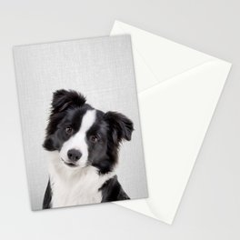 Border Collie - Colorful Stationery Cards