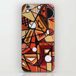 Geometric Composition iPhone Skin