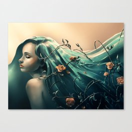 Troubles Canvas Print