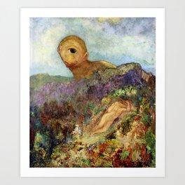 "Odilon Redon ""The Cyclops"" Art Print"