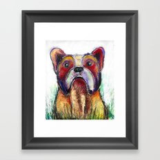 French Bulldog Art Framed Art Print