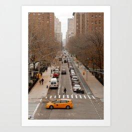 Travel Photography: New York City, Cross Walk Art Print