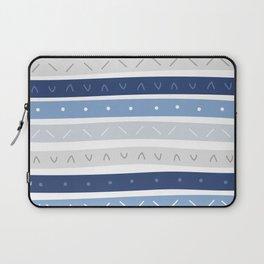 Bowie Blue Stripe Laptop Sleeve