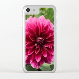 Pink as can be Clear iPhone Case