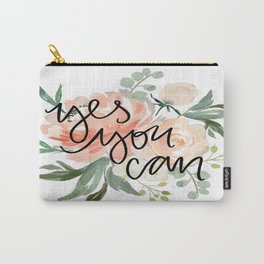 yes you can Carry-All Pouch
